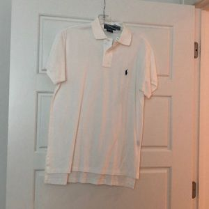 Polo by Ralph Lauren white short sleeve golf shirt